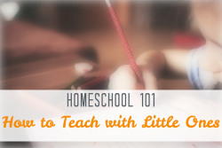 How to Teach with Little Ones